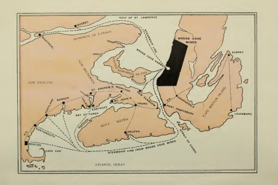 Map Broad Cove