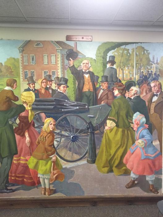 Peabody Mural - Richard V. Ellery