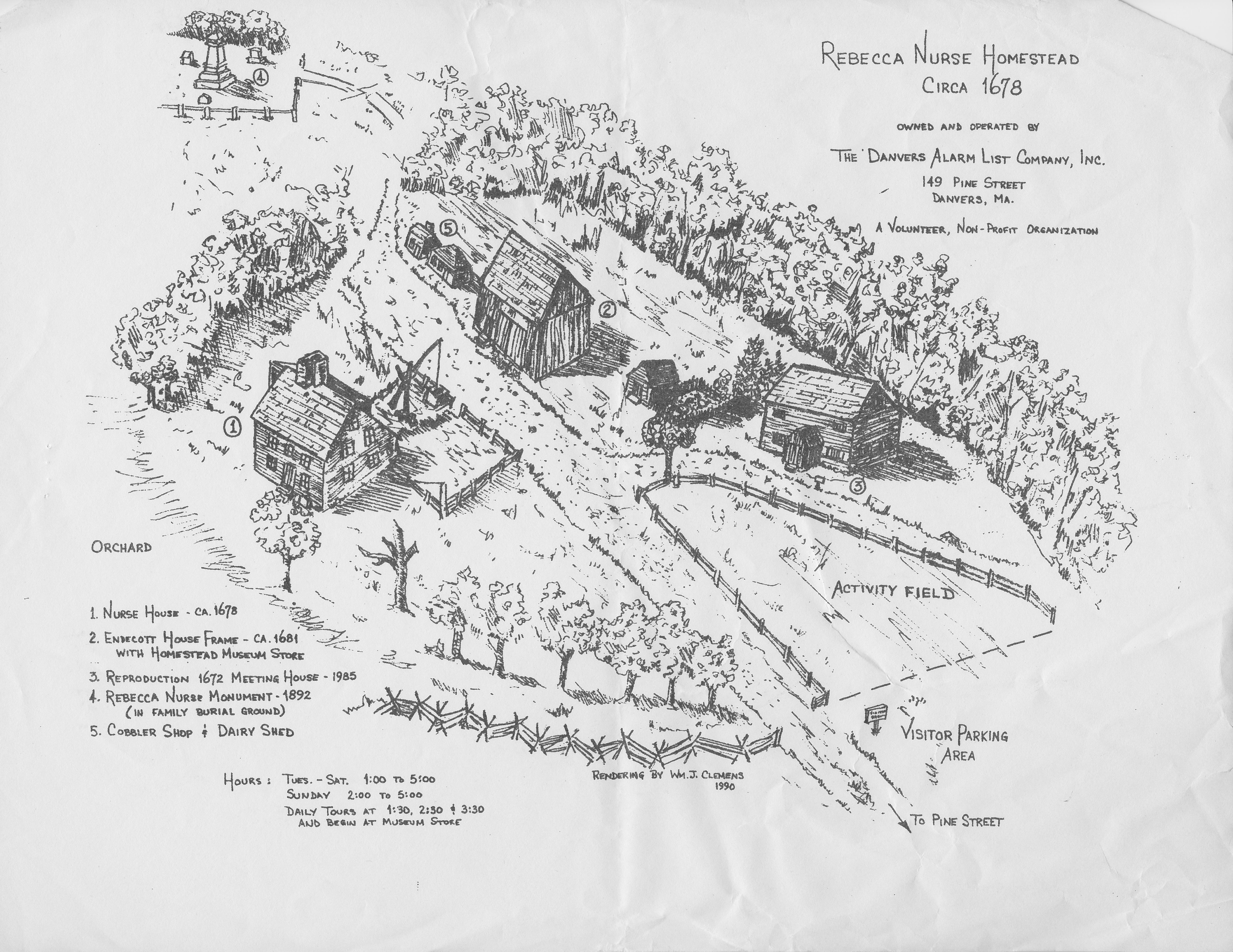 Nurse House Map Clemens
