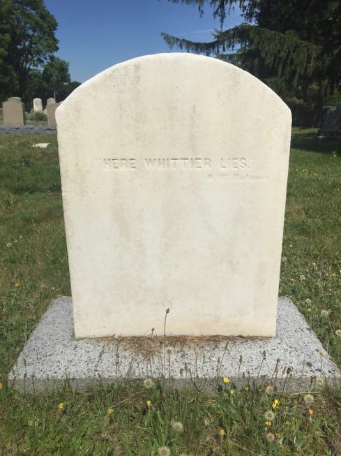 Whittier Grave 1