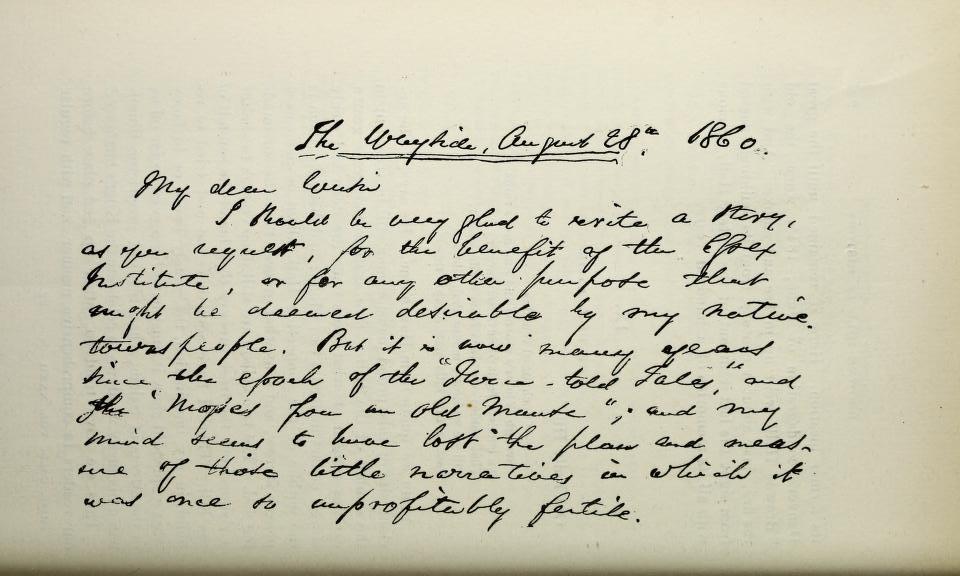 Hawthorne Letter 1 - EIHC 32 - 0246