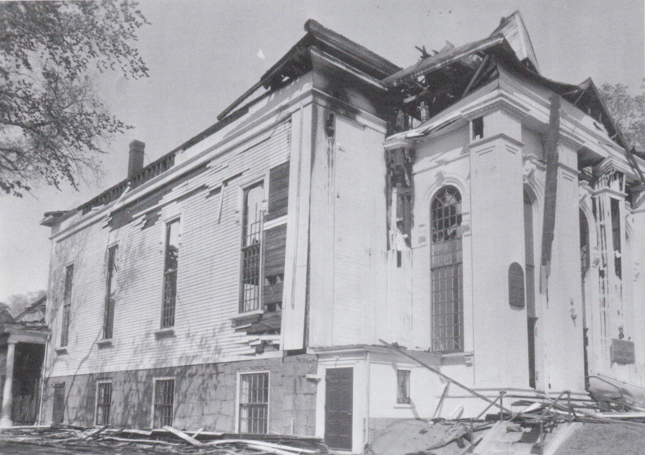 Maple St Church Ruins