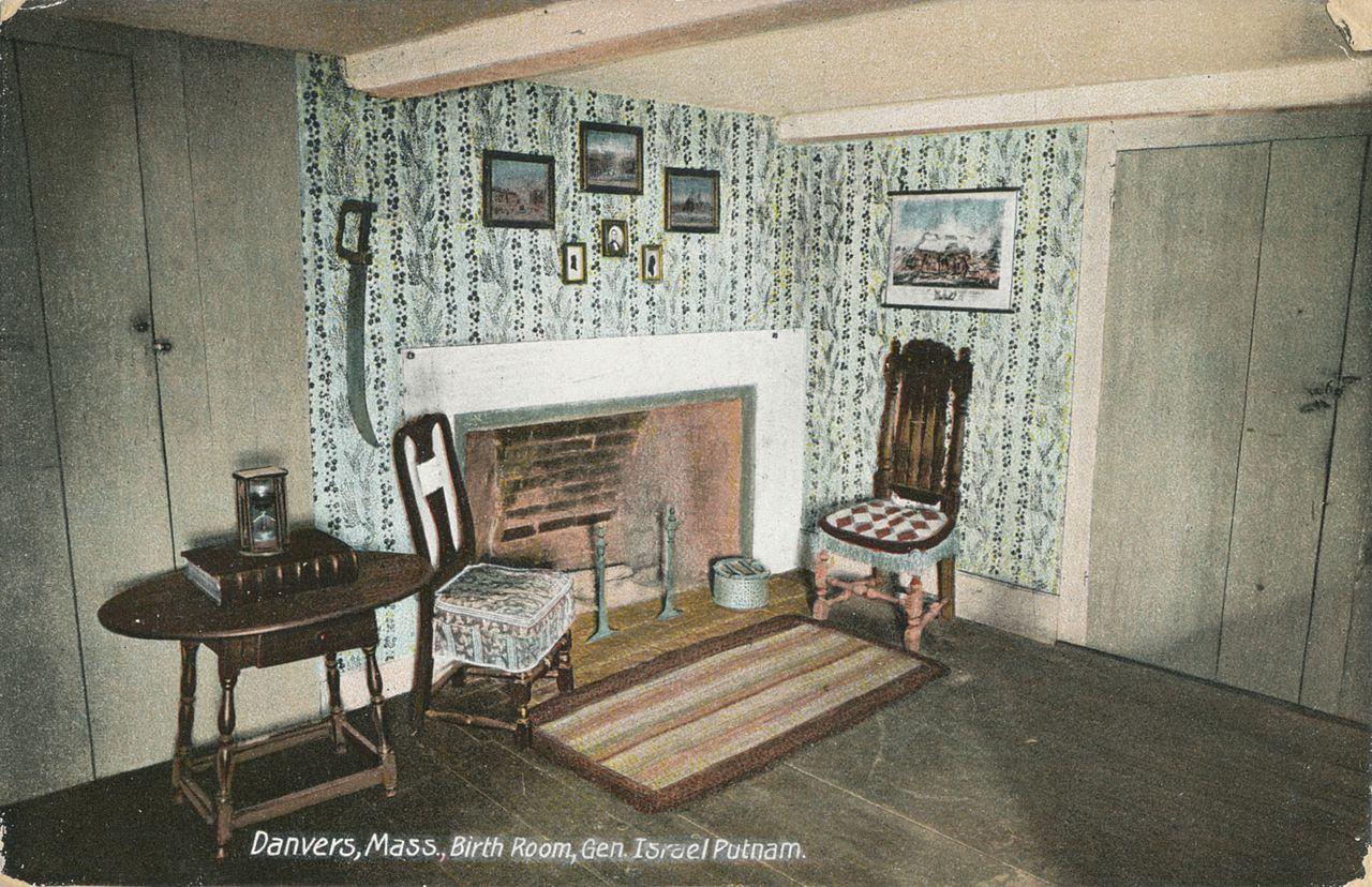 Birth_Room,_Gen._Israel_Putnam POSTCARD