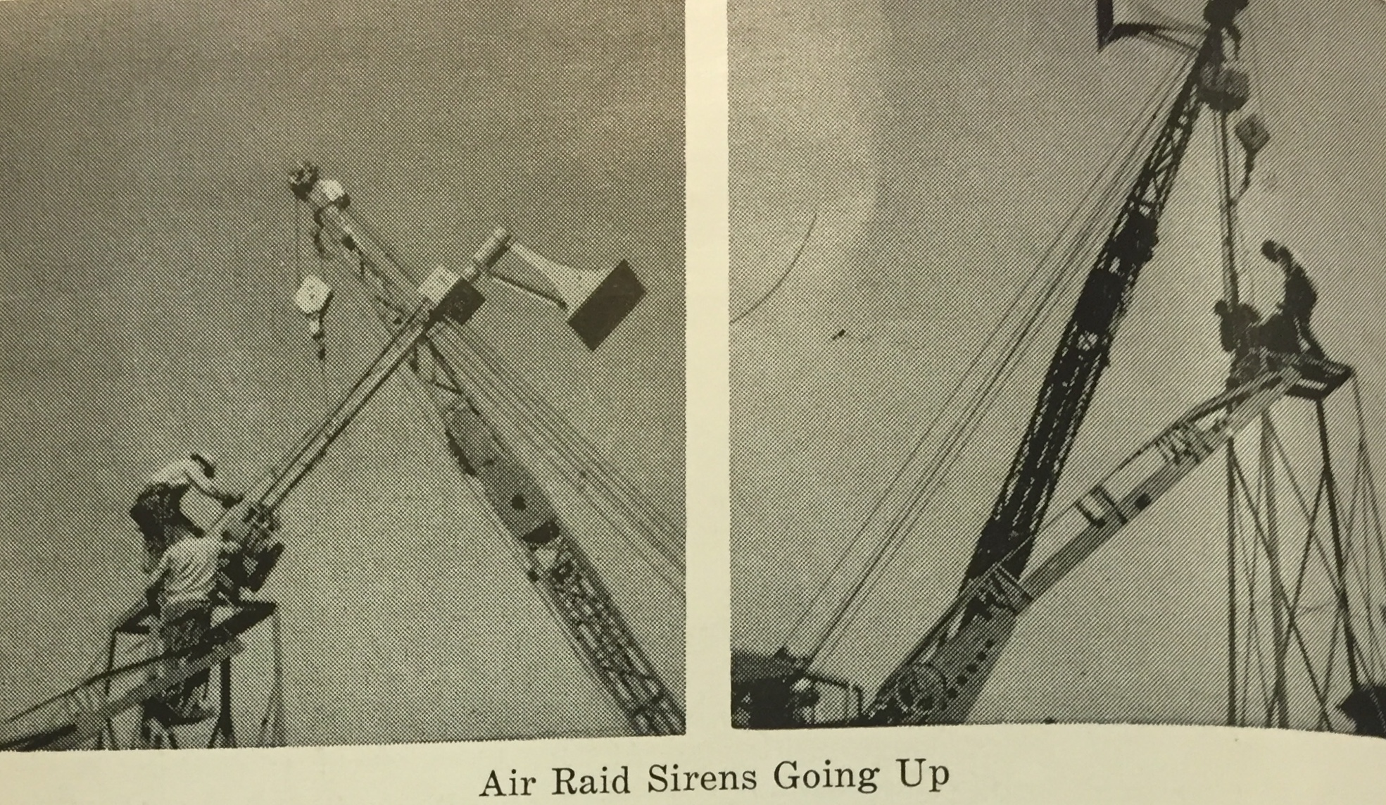 Air Raid Sirens