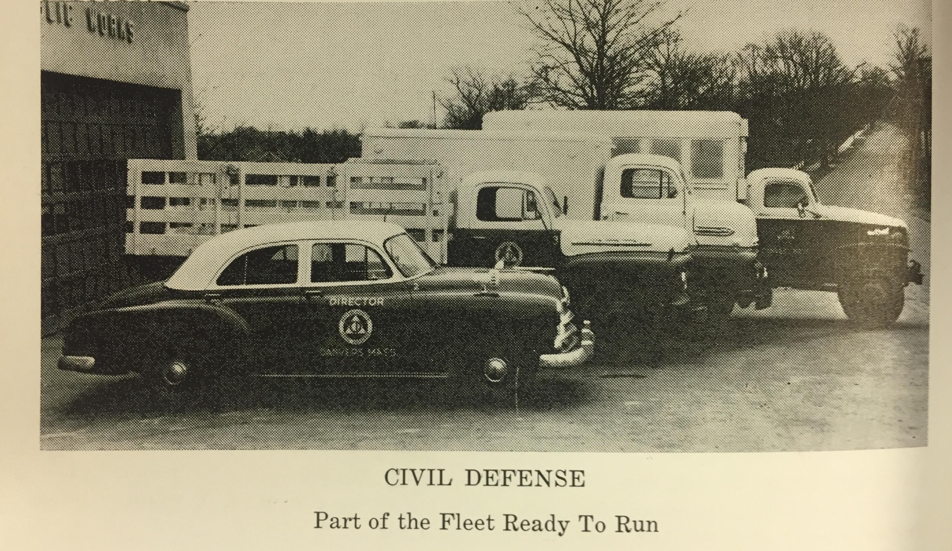 Civil Defense Trucks