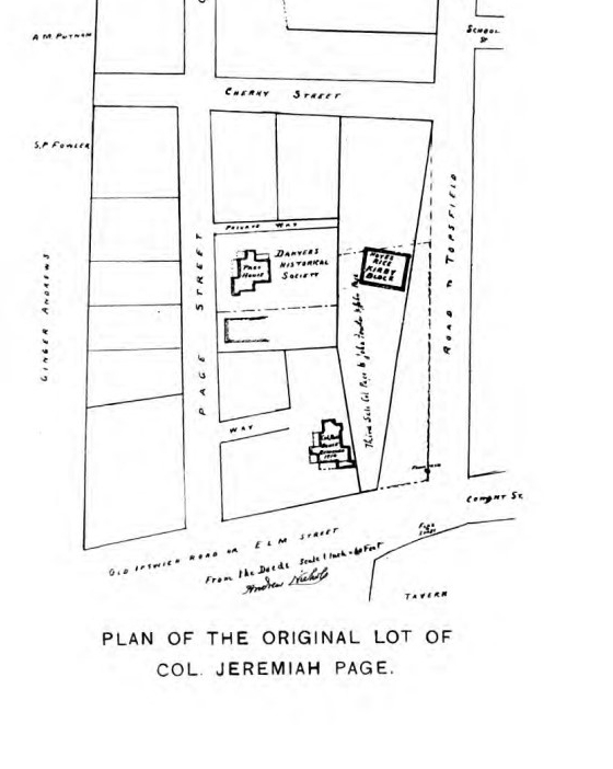 Original location of Page House - DHC v3